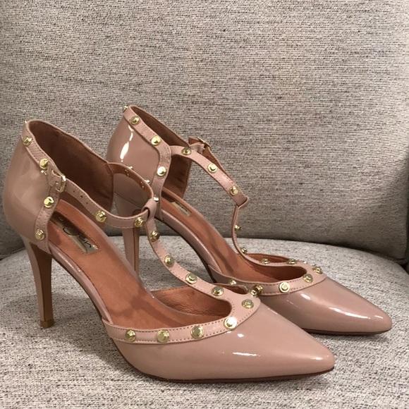 585d145d972b Halogen Nude Studded Heels